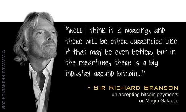 Richard Branson bitcoin