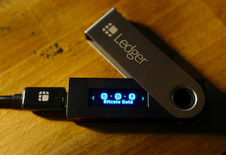 how to claim bitcoin gold from Ledger
