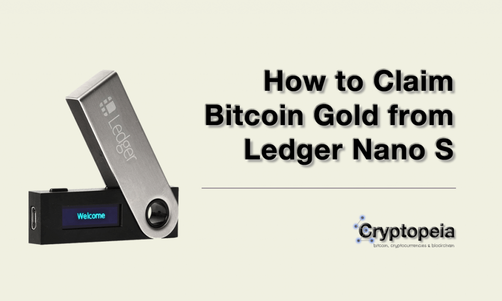 how to claim bitcoin gold