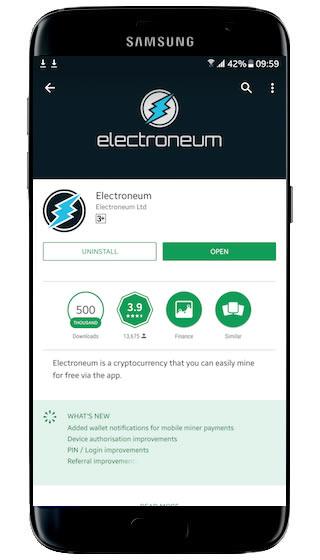 electroneum app