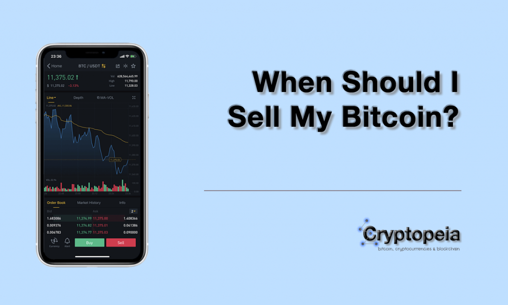 when should i sell my bitcoin