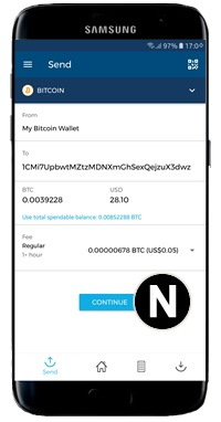 send bitcoin payment