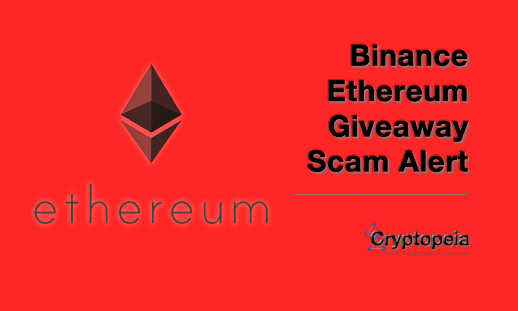 binance ethereum giveaway
