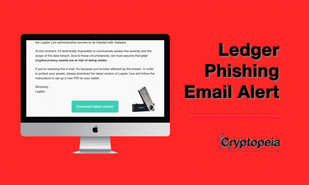 ledger phishing email