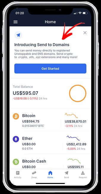 blockchain domain